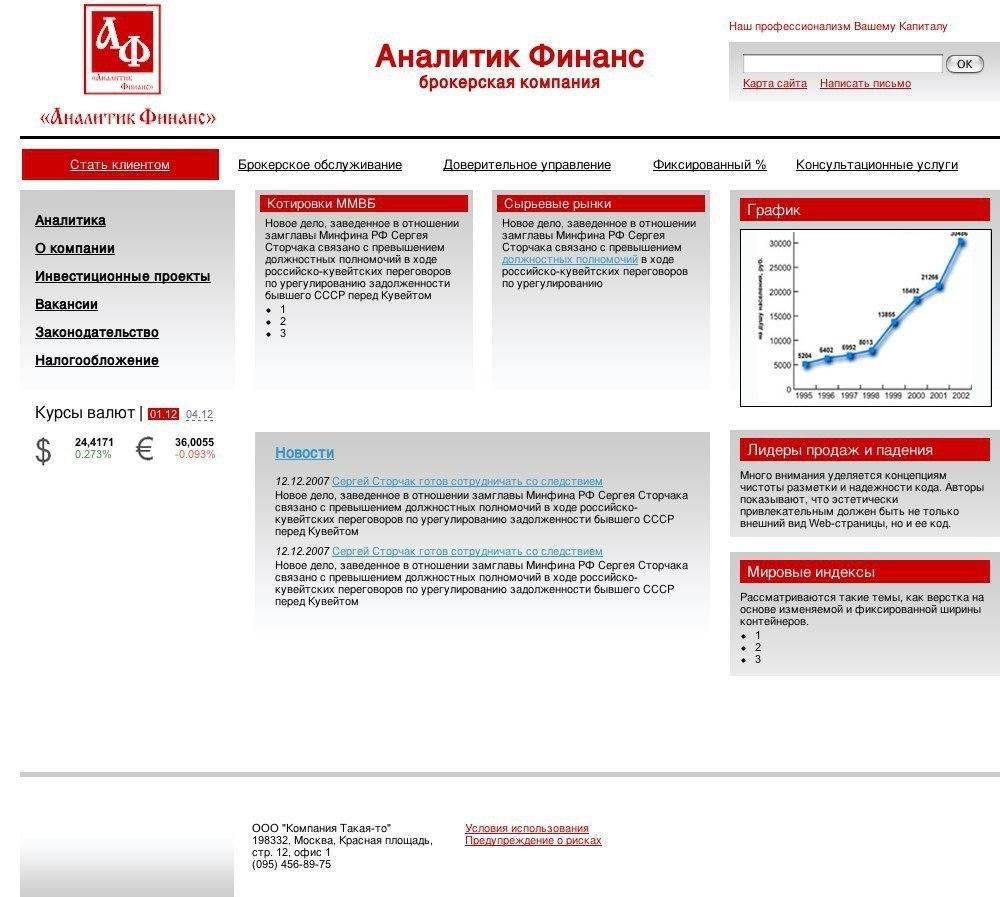 Aналитик-финанс