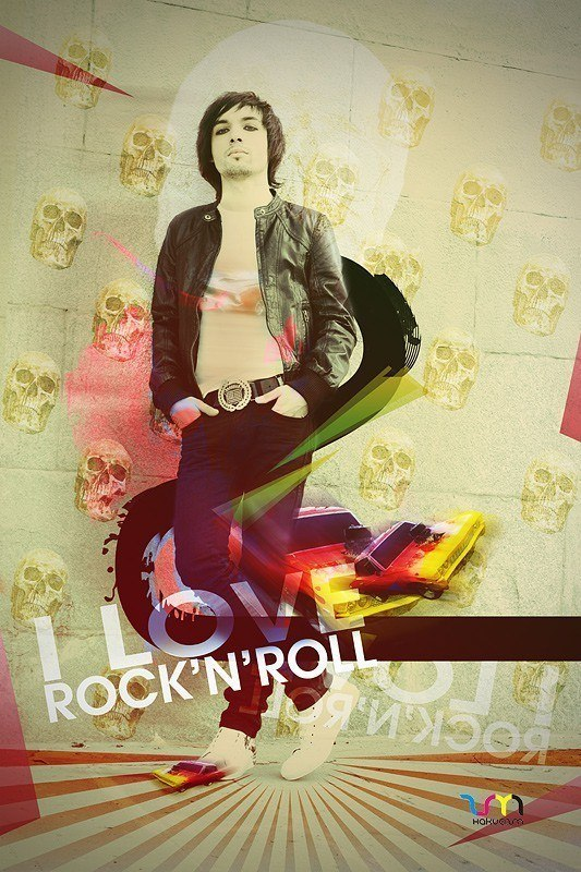 i love rock'n'roll (постер)