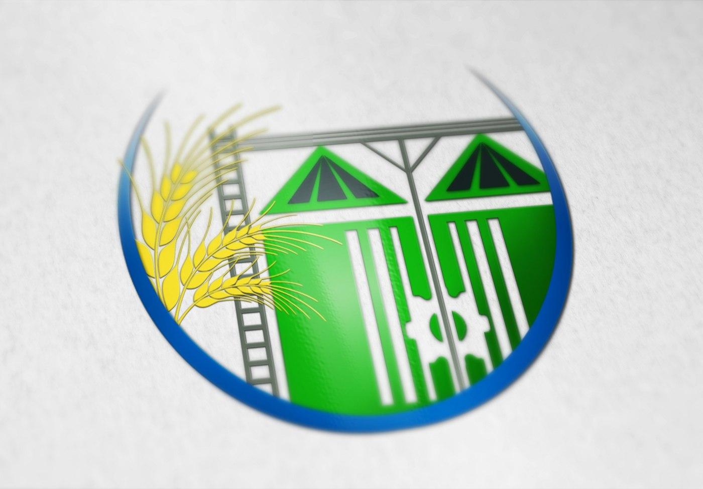 Логотип элеватор ленточный конвейер автокад