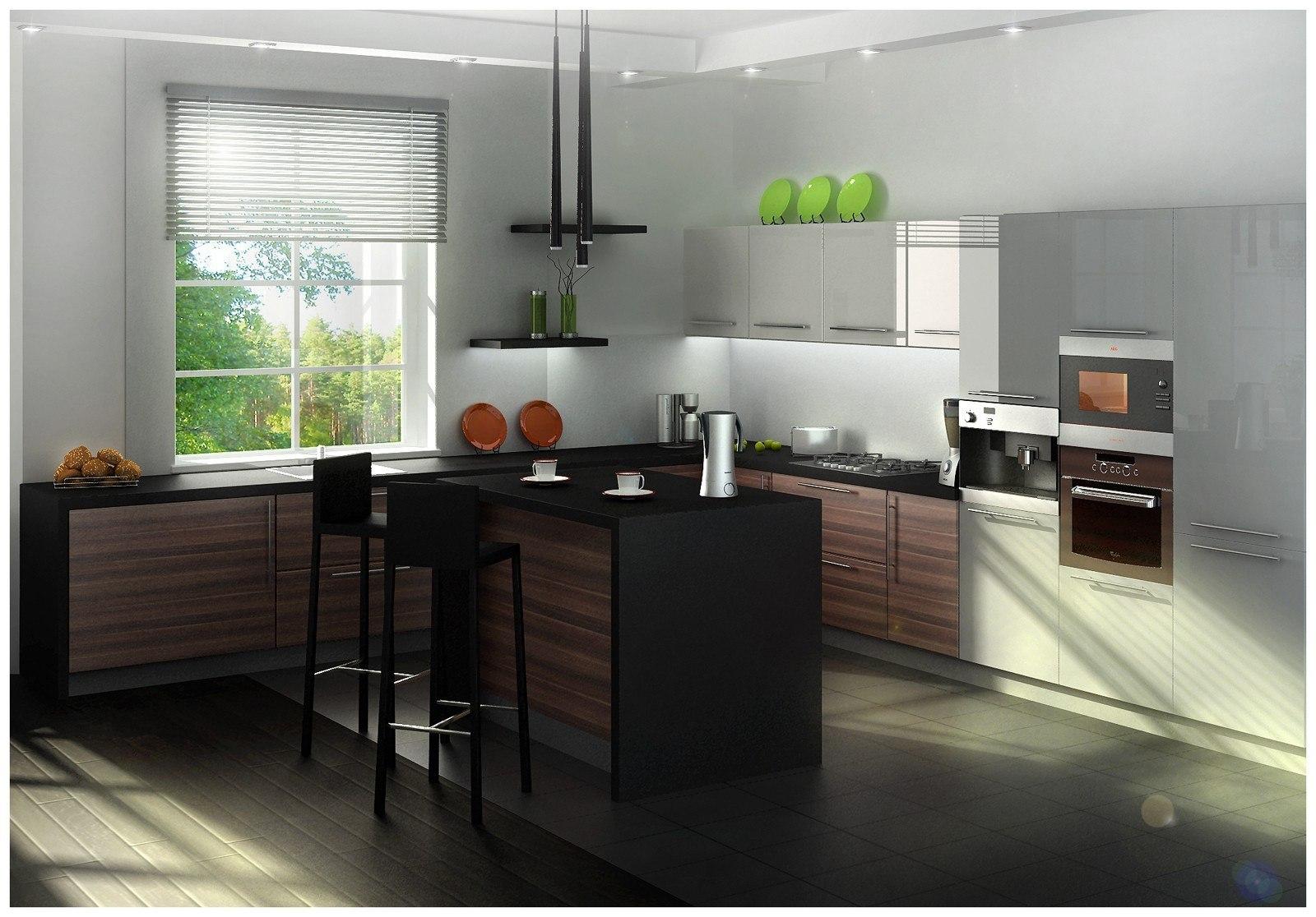 Дизайн кухня 14 кв м