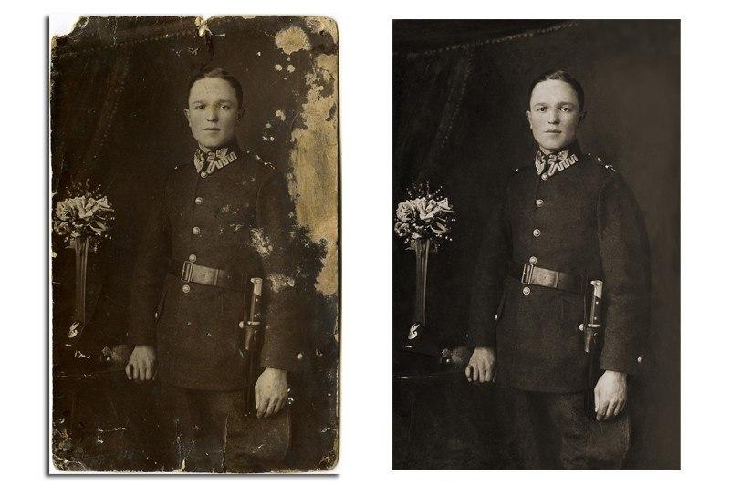 реставрация старых фотографий в юзао китае