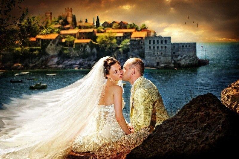 видео уроки фотошопа свадебная