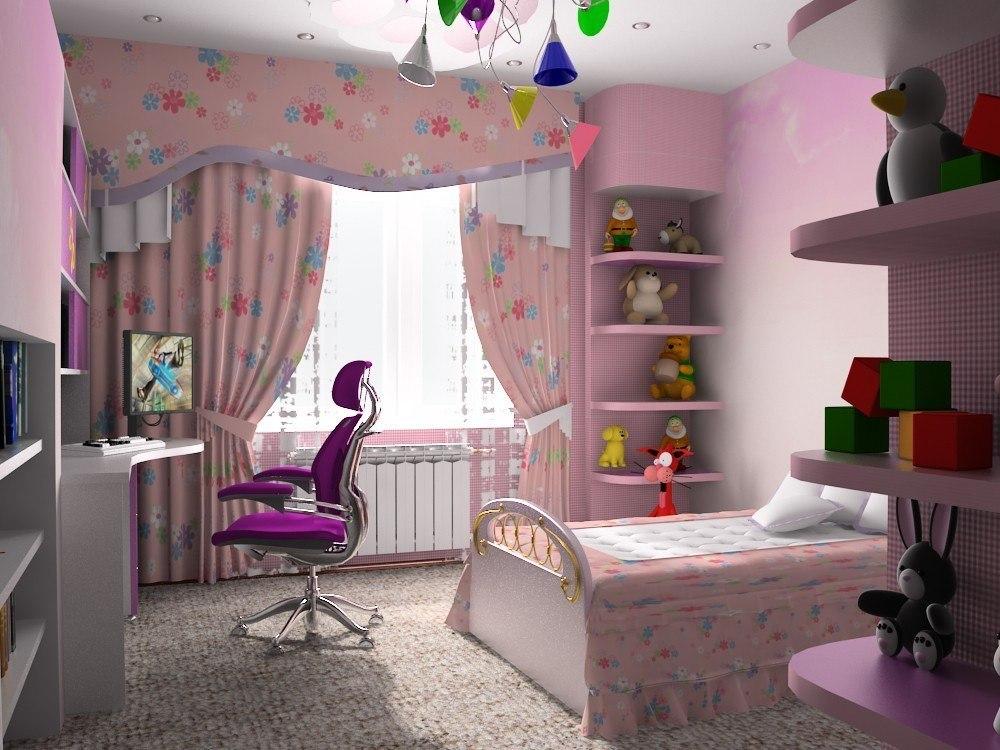 Lucy SA детские комнаты для девочек.