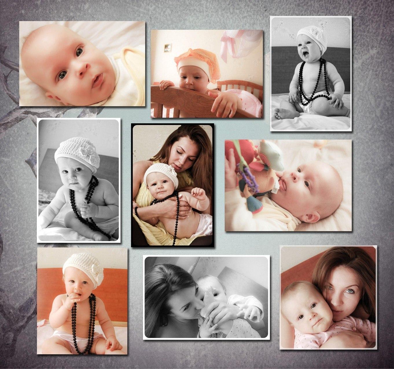 Поздравления, как сделать одну картинку из нескольких фотографий