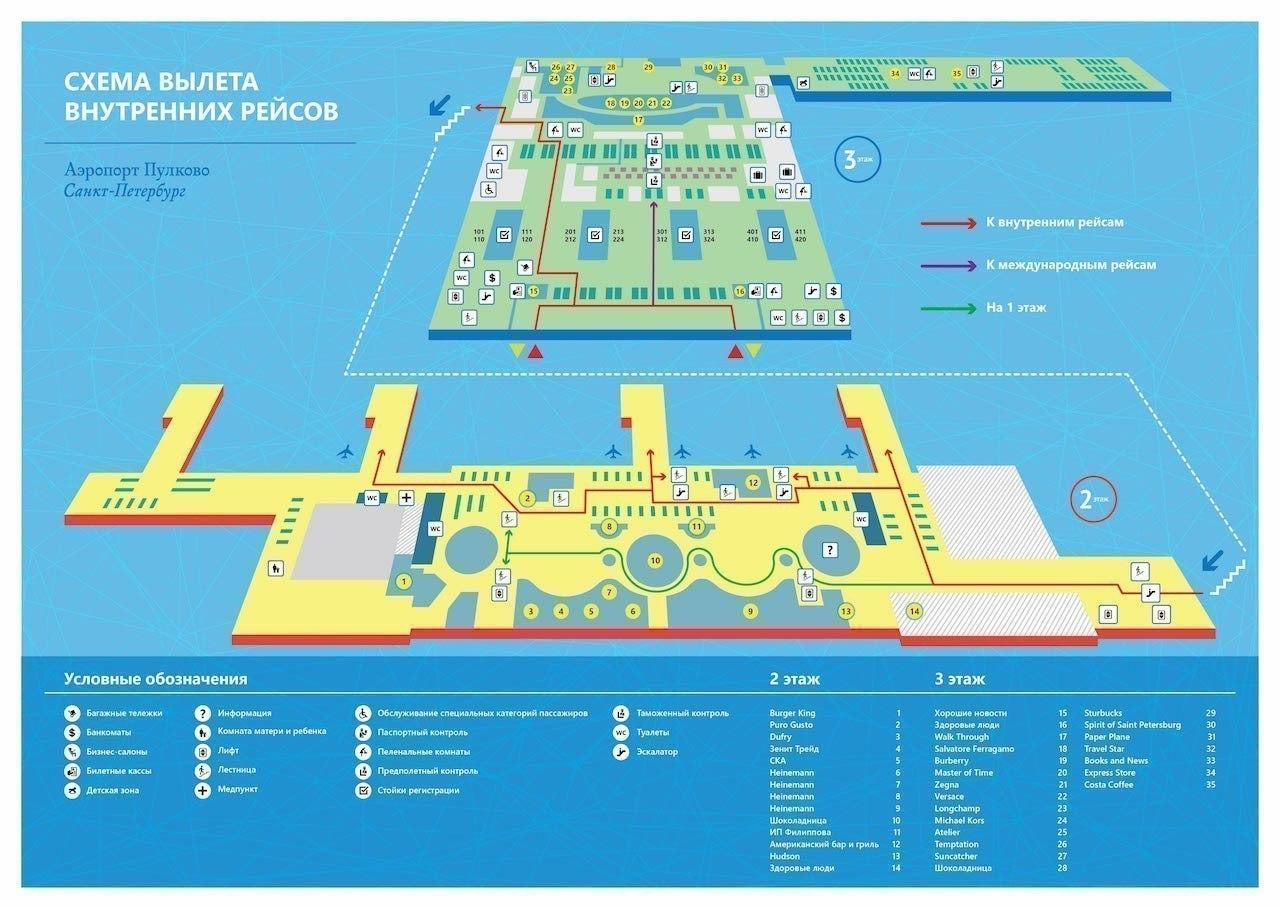 Новый терминал пулково схема парковки