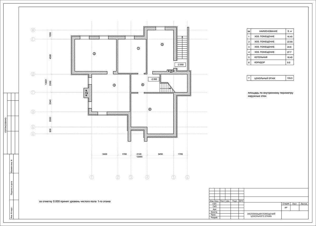 План дома.чертежи схема
