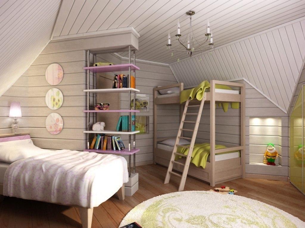 Покраска и дизайн дачного дома внутри