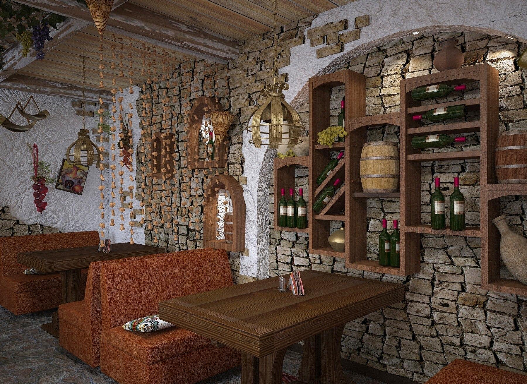 Фото грузинского кафе