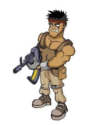 рисунок солдата: