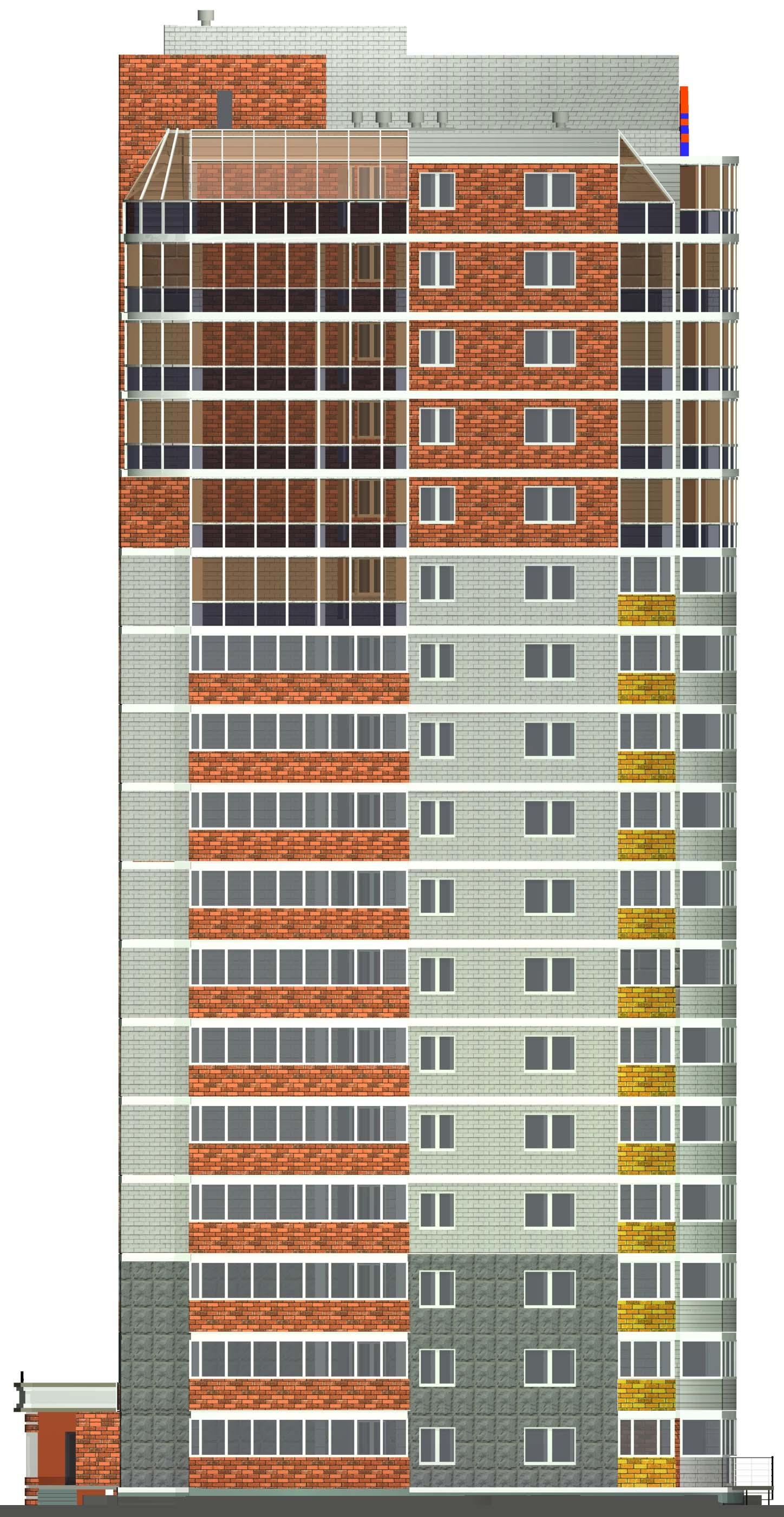 Картинка многоэтажного дома для детей