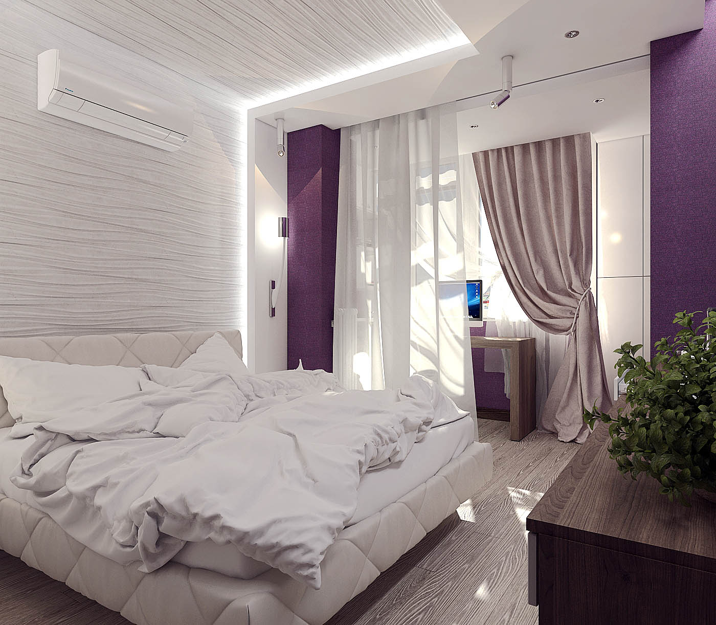 дизайн спальни для молодой пары фото маленький