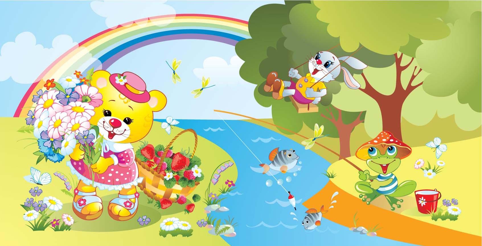 Красивые картинки лето для малышей