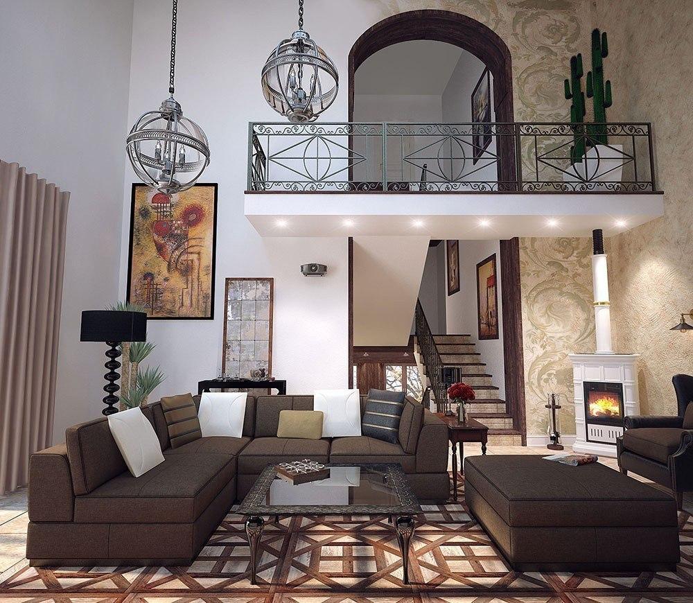 ярче как красиво обставить частный дом фото колумбии бетти