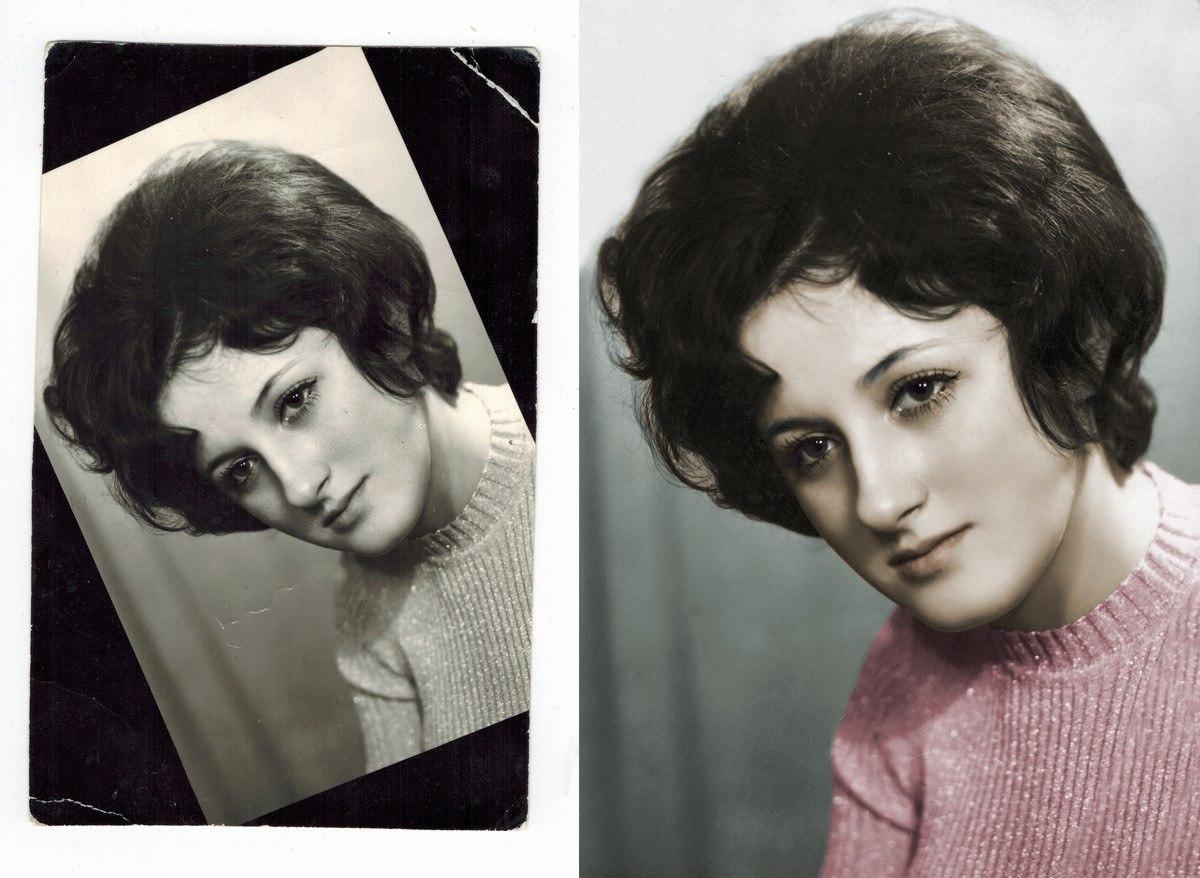 Сайт раскрашивания черно-белых фотографий