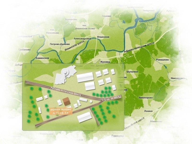 Схема проезда для сайта.