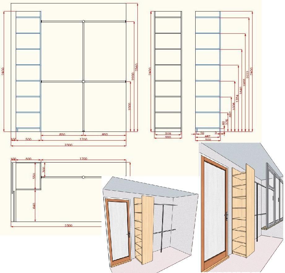 Шкаф балкон своими руками проект 87