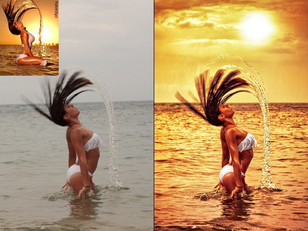 Как сделать фото под живопись в фотошопе