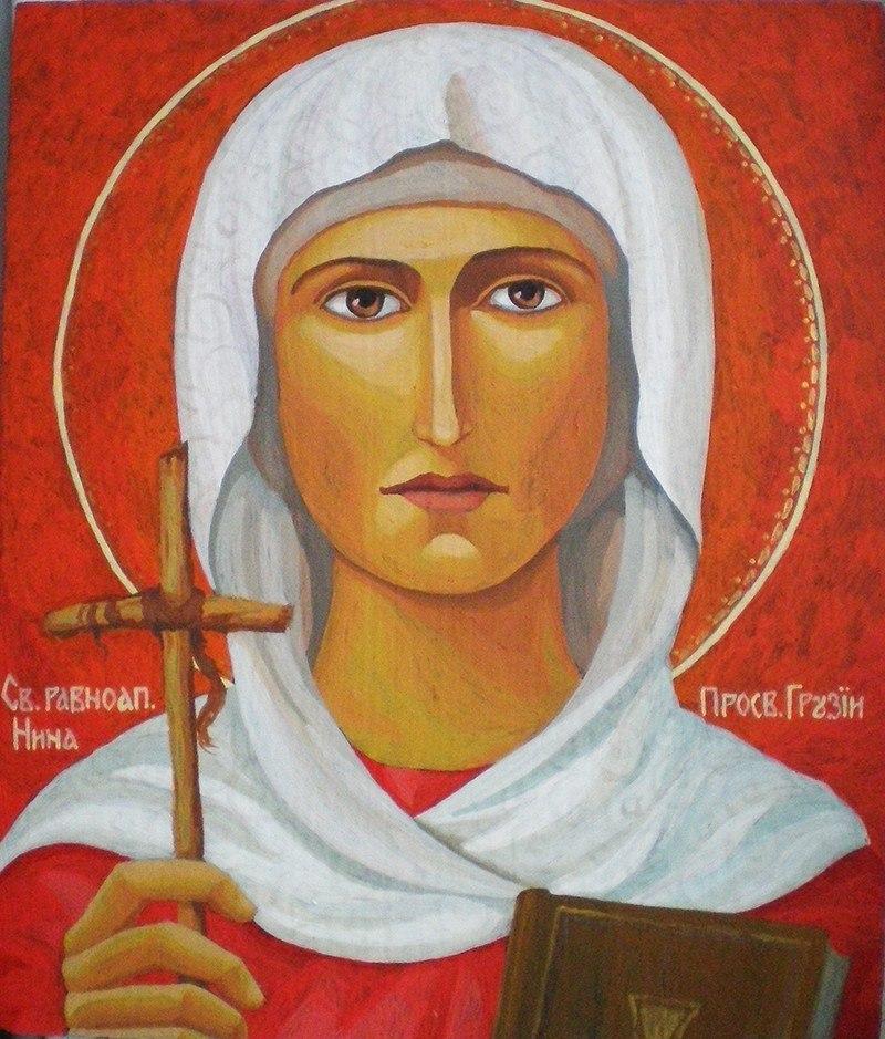 икона святая нина: