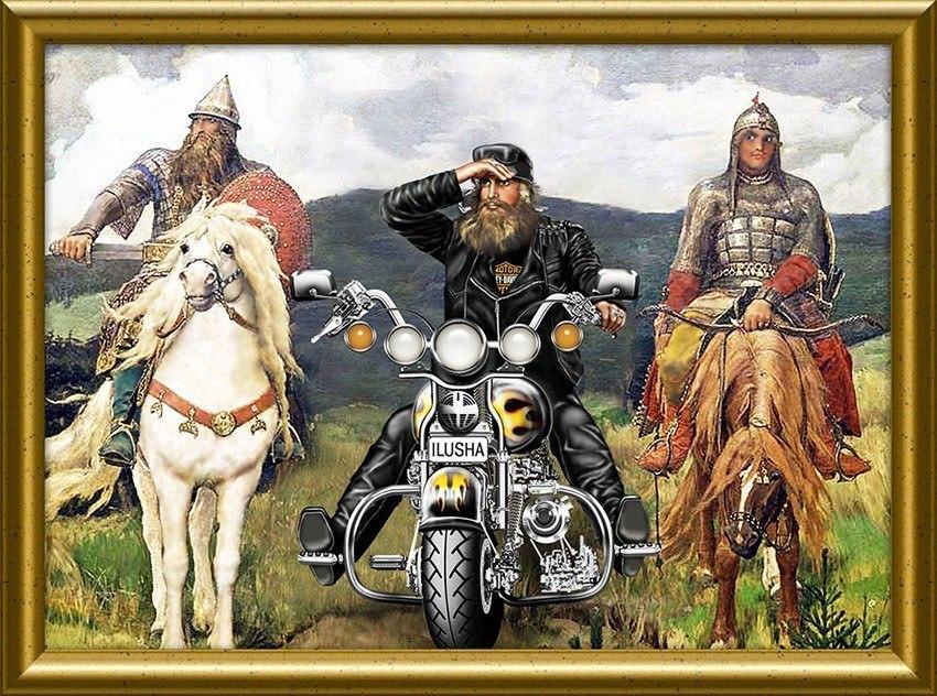 три богатыря на мотоциклах картинка обнаружили множество корейцев