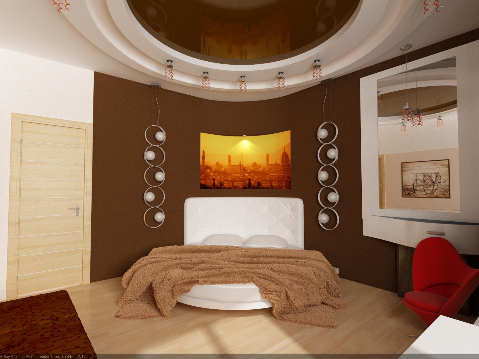 Фото красивых спальных комнат для девушек