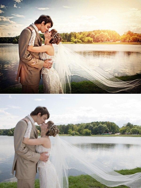 настоящий эффекты для свадебных фотографий называемый