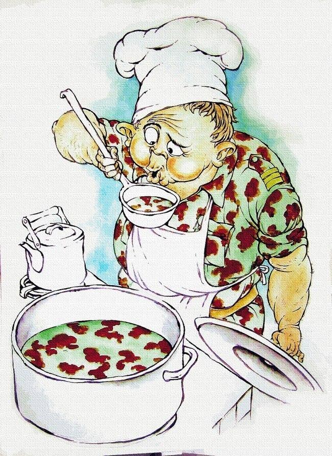 Картинках, повар прикольная картинка