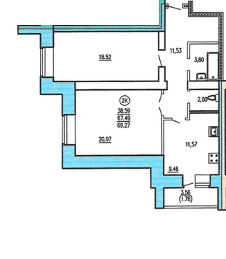 Дизайн проекты квартир 70 кв