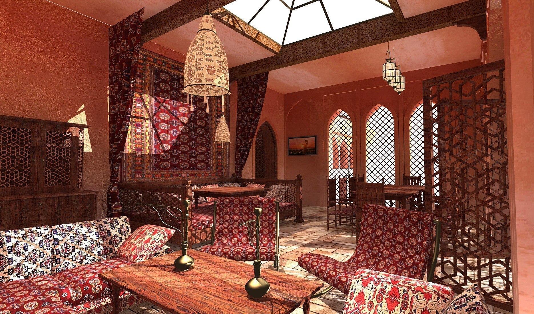 многих узбекский дизайн кафе фото чем