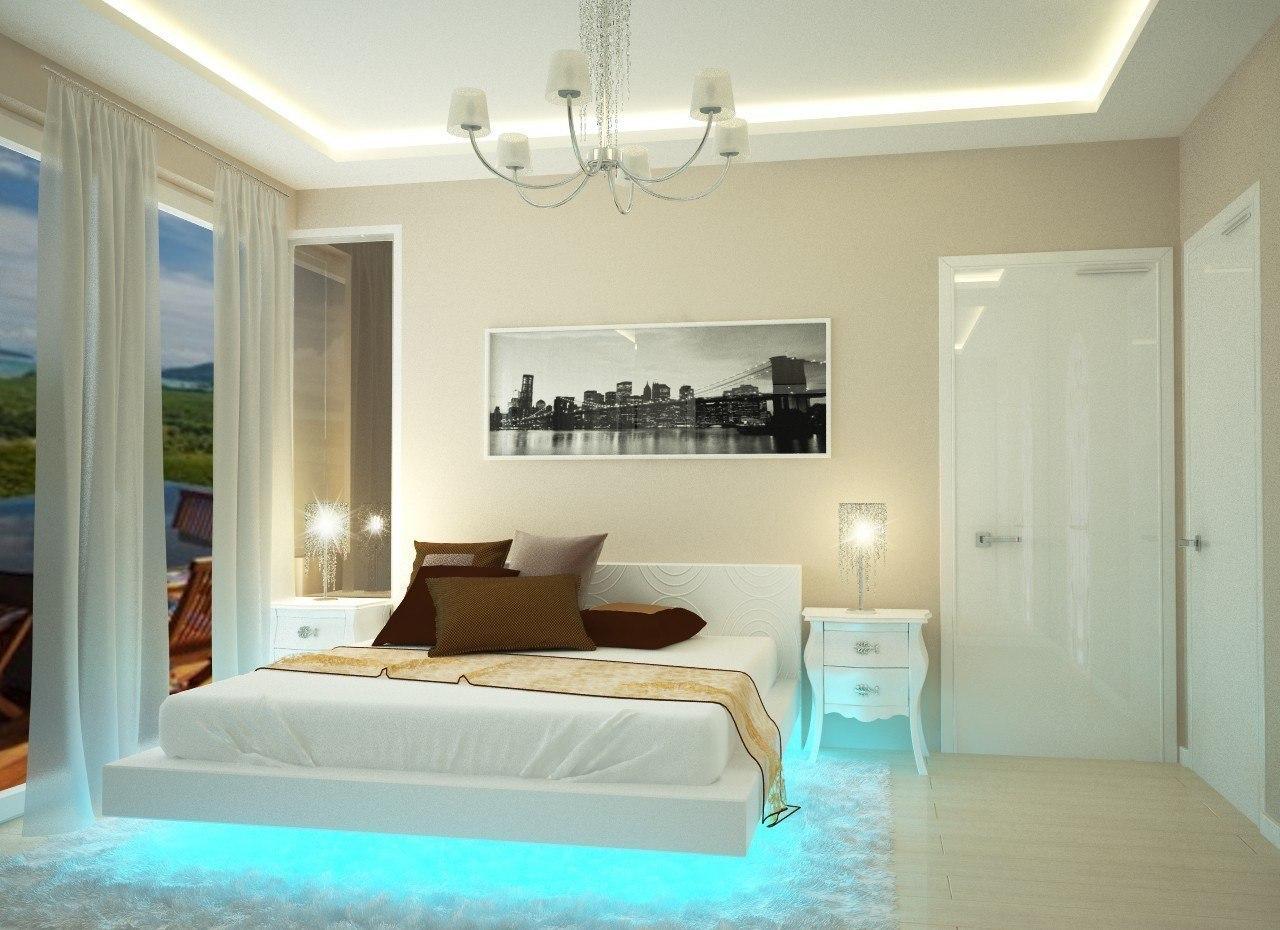 вот спальня в частном доме фото дизайн интерьера спальни веселые
