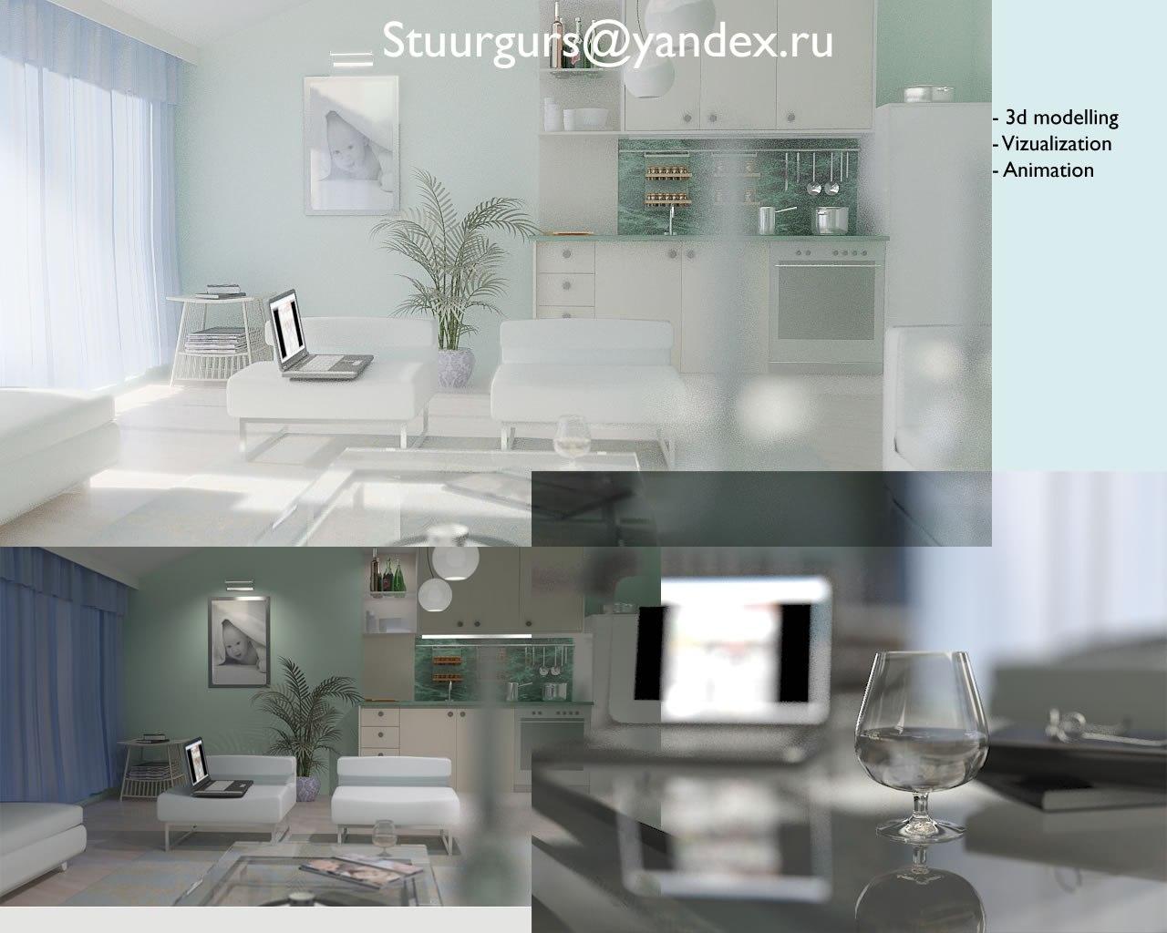 Квартира студия фото дизайн