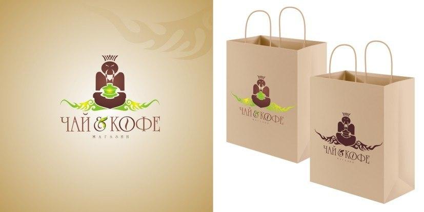 Логотип чайного интернет-магазина чинный чай